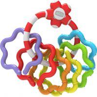 Chicco Chrastítko barevné kytičky