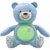 Chicco medvídek s projektorem modrá