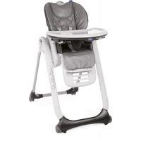 Chicco Židlička jídelní Polly 2 Start Anthracite
