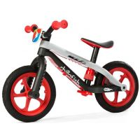 Alltoys Chillafish balančné bicykel BMXIE RS červený