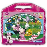 CLEMENTONI Dětské kocky plastové Mickeyho klubík 24 kostek
