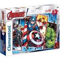 Clementoni Avengers Supercolor Maxi 24 dílků