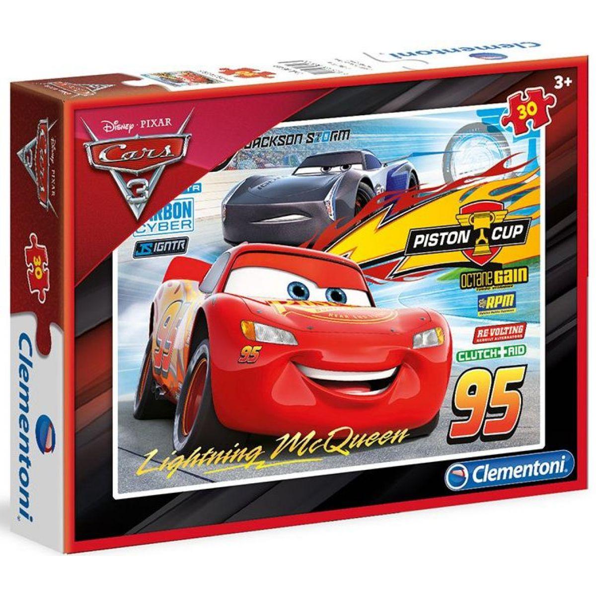 Clementoni Cars 30 dielikov