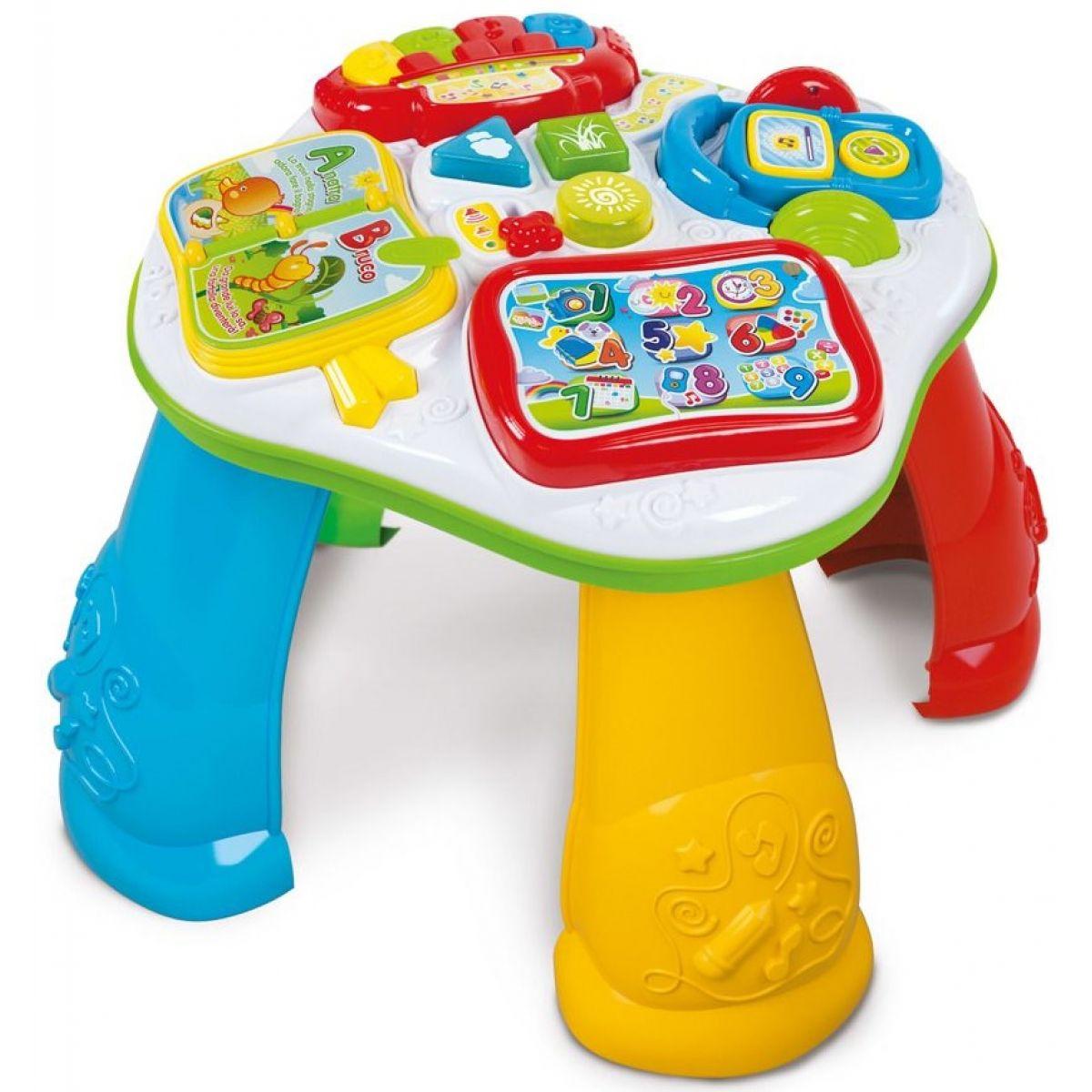 Clementoni CLEMMY Baby Interaktívne stolček