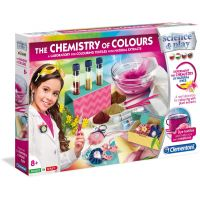 Clementoni Detské laboratórium Sada farebná chémia