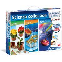 Clementoni Detské laboratórium Vedecká kolekcia 3v1