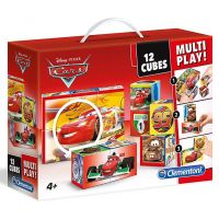 Clementoni Disney Kostky Cars Multi Play 12 kostek