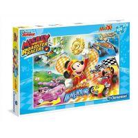 Clementoni Disney Mickey pretekár Puzzle Maxi 100 dielikov