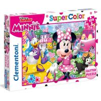 Clementoni Disney Minnie Supercolor Glitter 104 dielikov