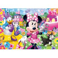 Clementoni Disney Minnie Supercolor Glitter 104 dielikov 2
