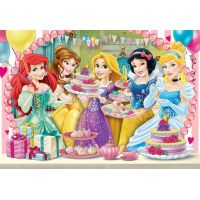Clementoni Disney Princes Supercolor Princezny 2 x 20 dílků 2