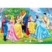 Clementoni Disney Princes Supercolor Princezny 2 x 20 dílků 3