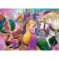 CLEMENTONI 29739 Disney princezny: Na vlásku 250 dílků 2