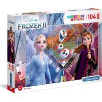 Clementoni Disney Puzzle Maxi 104D Frozen 2