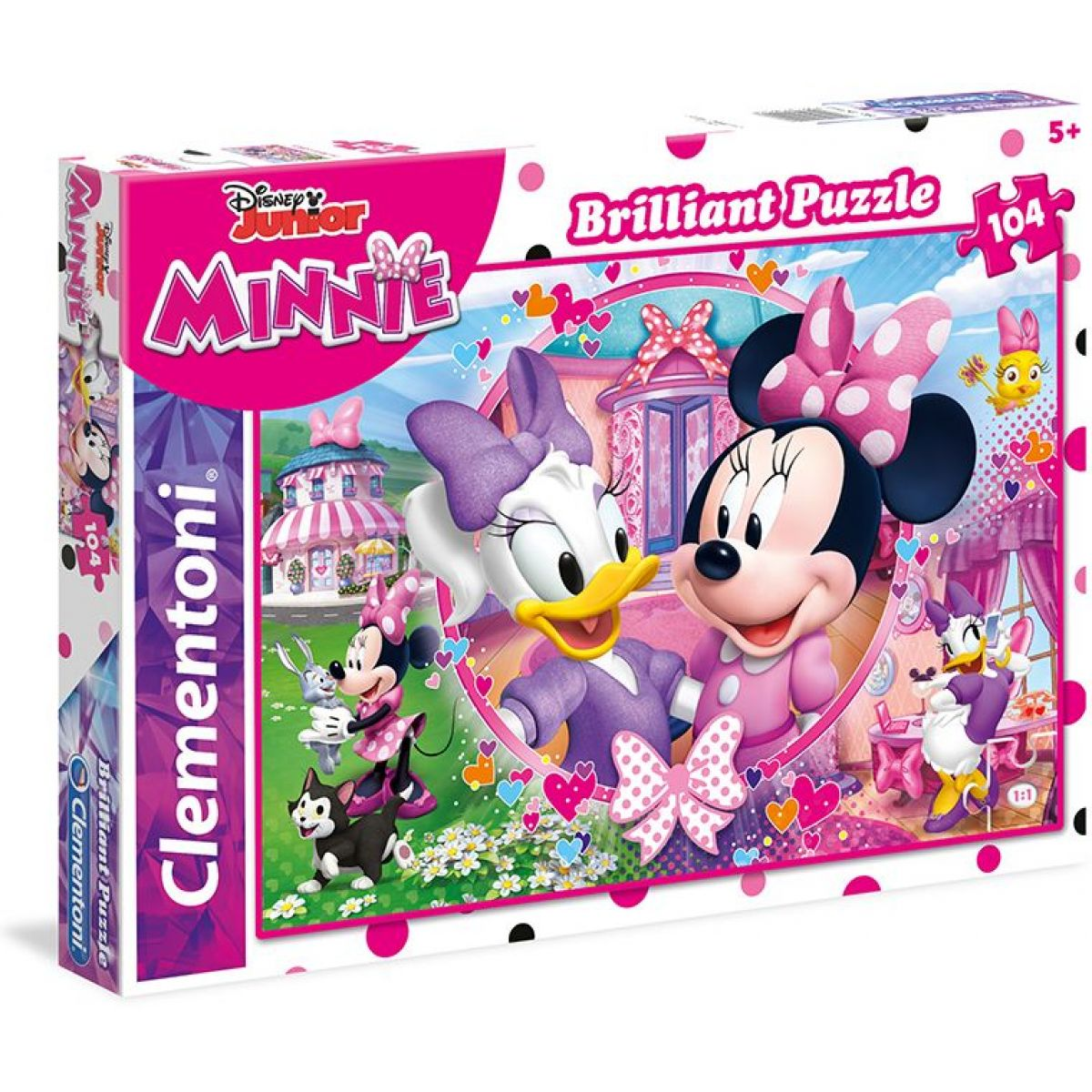 Clementoni Disney Minnie Briliant 104 dílků