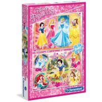 Clementoni Disney Puzzle Princezné 2 x 60 dielikov