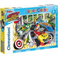Clementoni Disney Puzzle Supercolor Mickey pretekár 60 dielikov