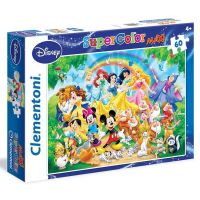 Clementoni Disney Supercolor Maxi Puzzle 60 dielikov