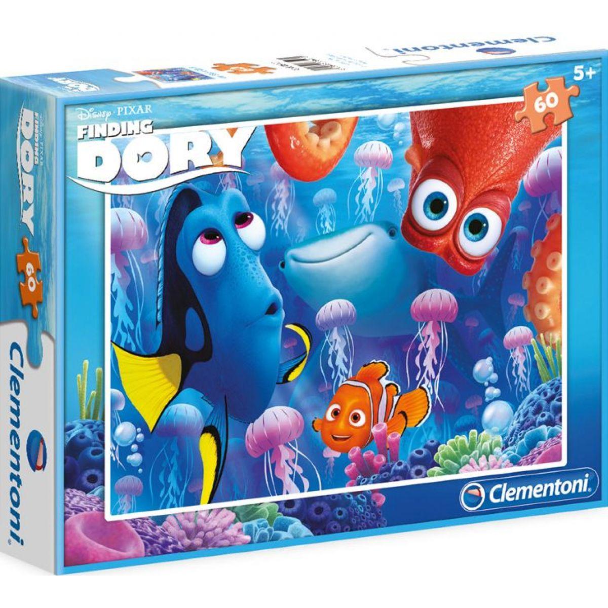 Clementoni Hľadá sa Dory Puzzle 60 dielikov