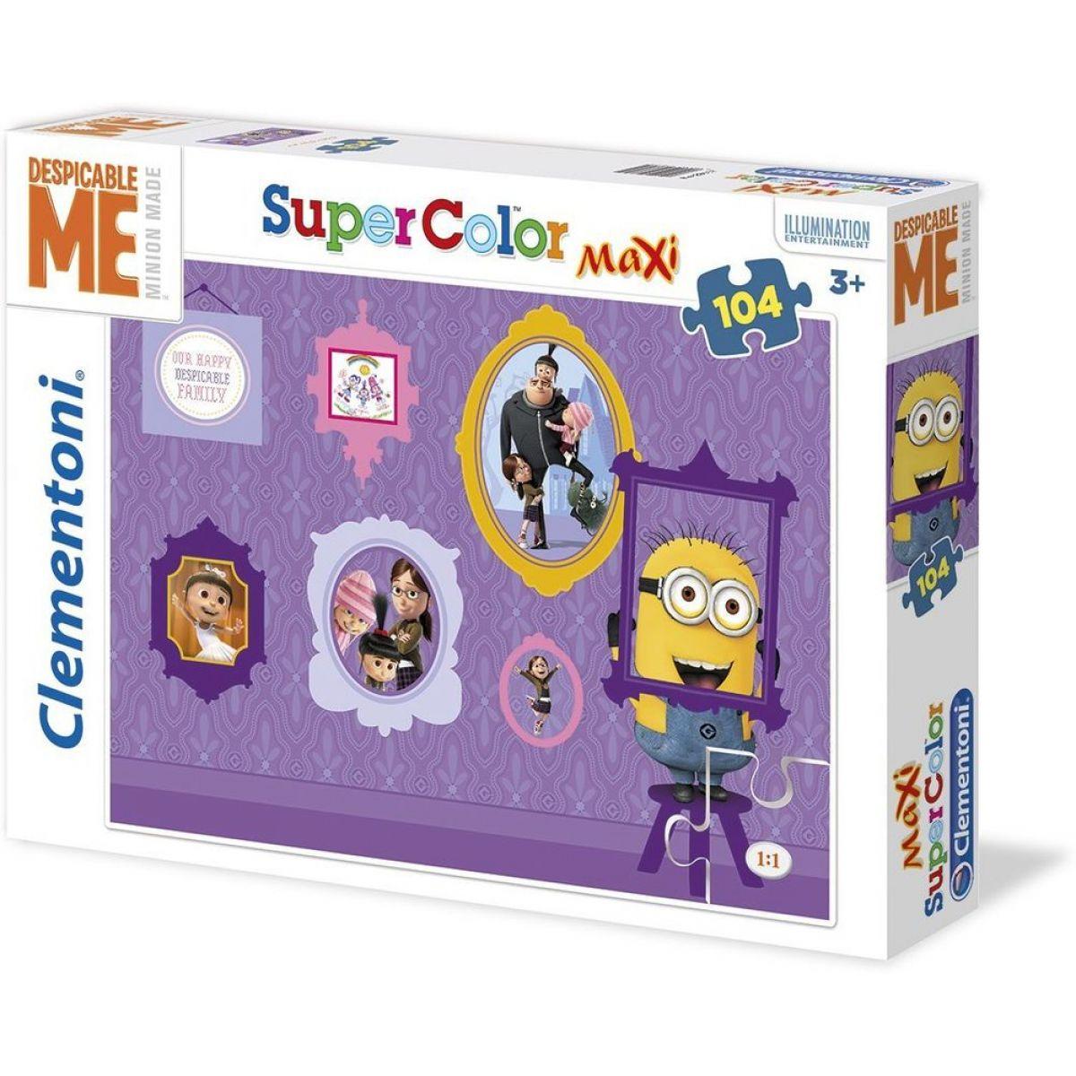 CLEMENTONI Ja zloduch Maxi Supercolor 104 dielikov