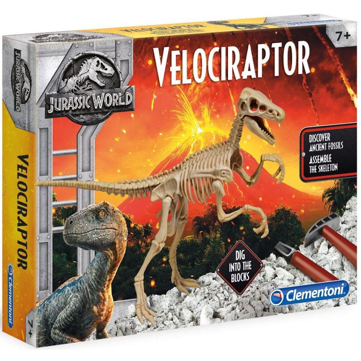Clementoni Jurský svet 2 Velociraptor
