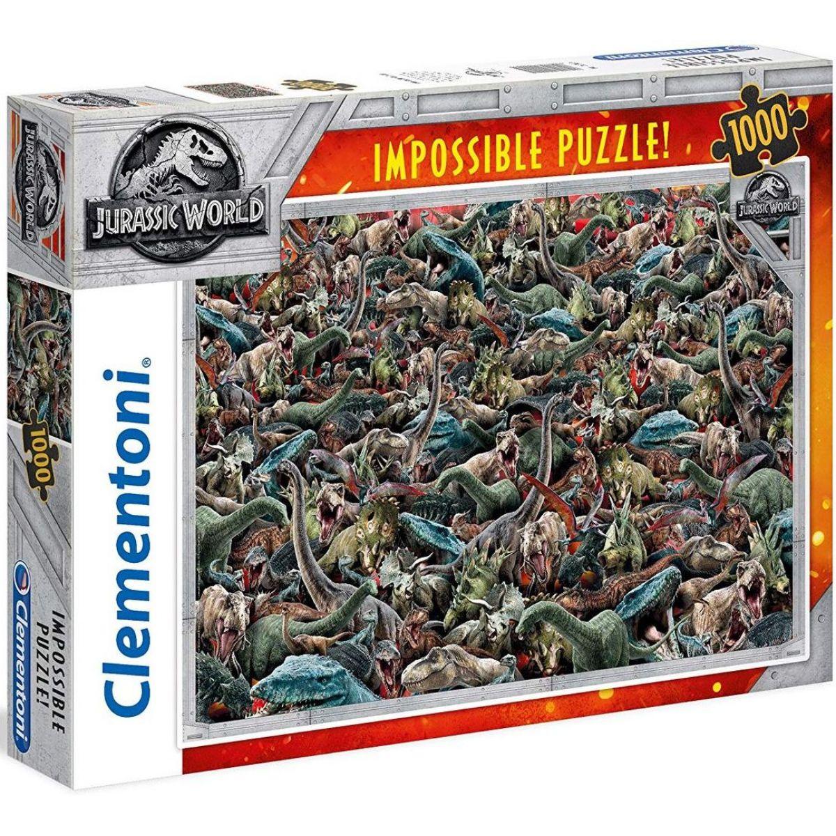 Clementoni Jurský svet Impossible 1000 dielikov