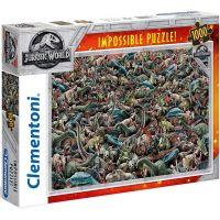 Clementoni Jurský svět Impossible 1000 dílků