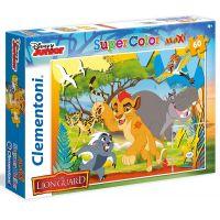 Clementoni Lion Guard Supercolor Puzzle Maxi 60 dielikov