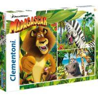 CLEMENTONI 3x48 dílků Madagaskar