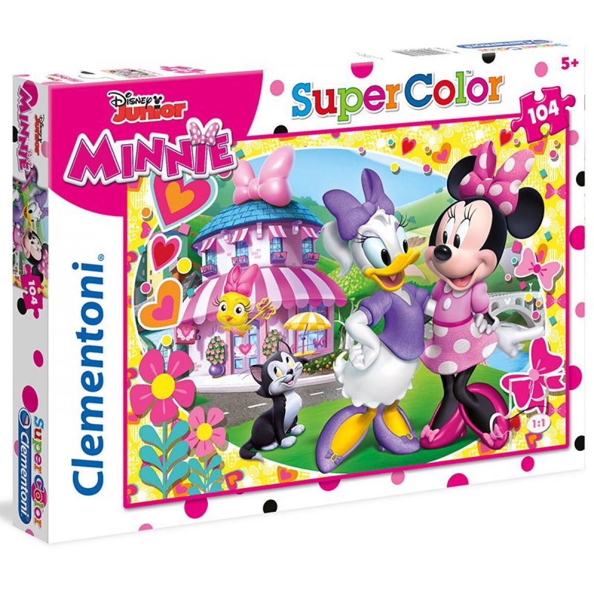 Clementoni Minnie Supercolor 104 dílků