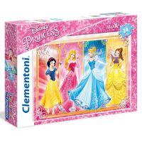 Clementoni Princess Supercolor Maxi 24 dílků