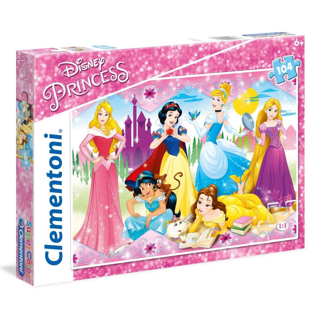 Clementoni Princess Supercolor 104 dielikov