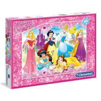 Clementoni Princess Supercolor Maxi 104 dílků