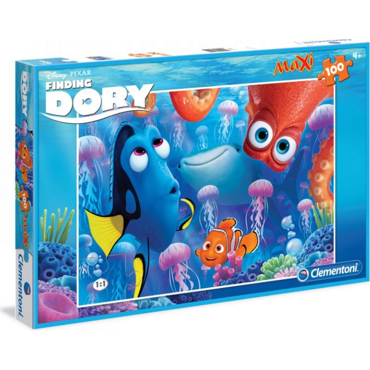 Clementoni Puzzle 100 Maxi Hľadá sa Dory