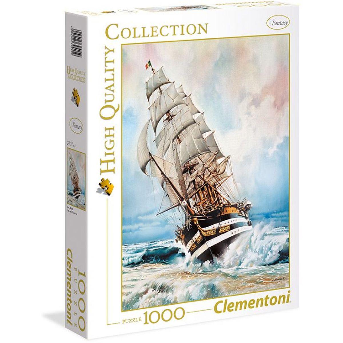 Clementoni Puzzle 1000 dílků Plachetnice Amerigo Vespucci