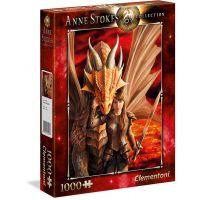 Clementoni Puzzle Anne Stokes 1000 dílků Vnitřní síla