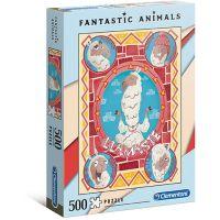 Clementoni Puzzle Fantastic Animals 500 dílků lama
