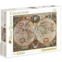 CLEMENTONI Historická mapa 1000 dílků