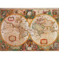 CLEMENTONI Historická mapa 1000 dílků 2