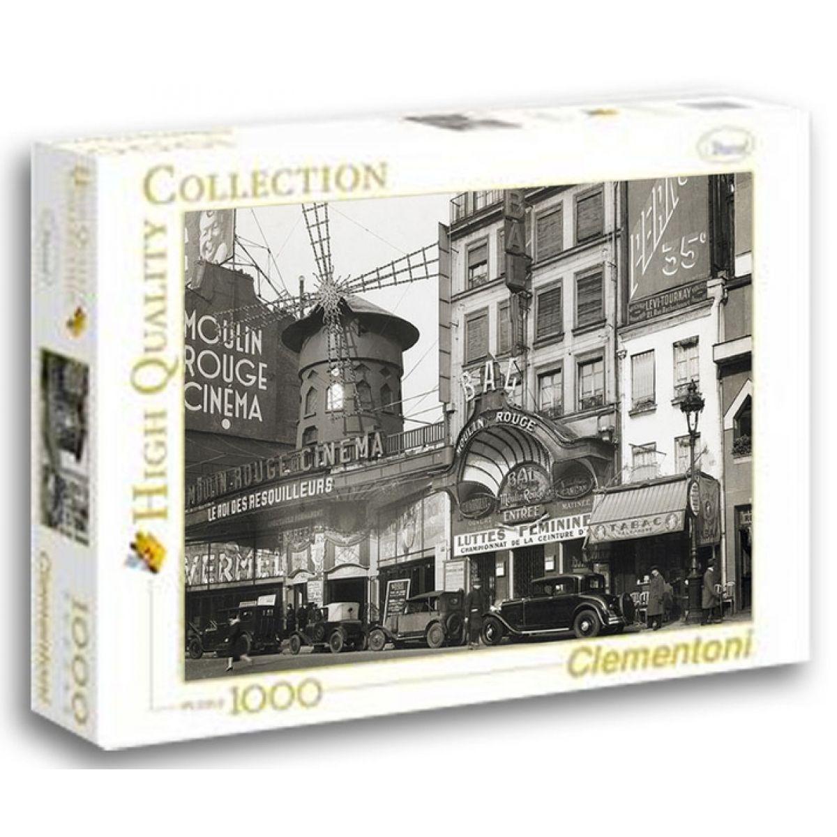 Clementoni Puzzle Moulin Rouge Cinema 1000 dílků
