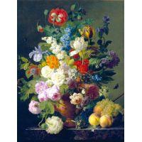Clementoni Dael: Váza kvetov 1000 dielov 2