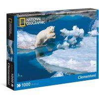 Clementoni National Geographic Ľadový medveď 1000 dielov