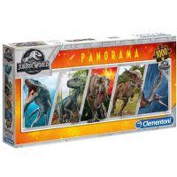 Clementoni Panorama Jurský svět 1000d