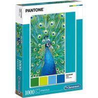 Clementoni Puzzle Pantone Páv modrý 1000 dielikov