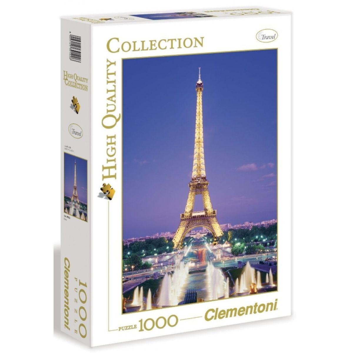 CLEMENTONI Paříž 1000 dílků