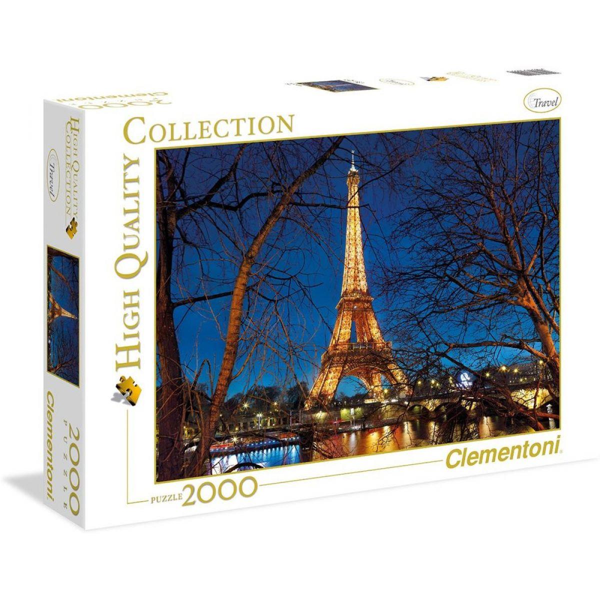 CLEMENTONI Paříž Francie 2000 dílků