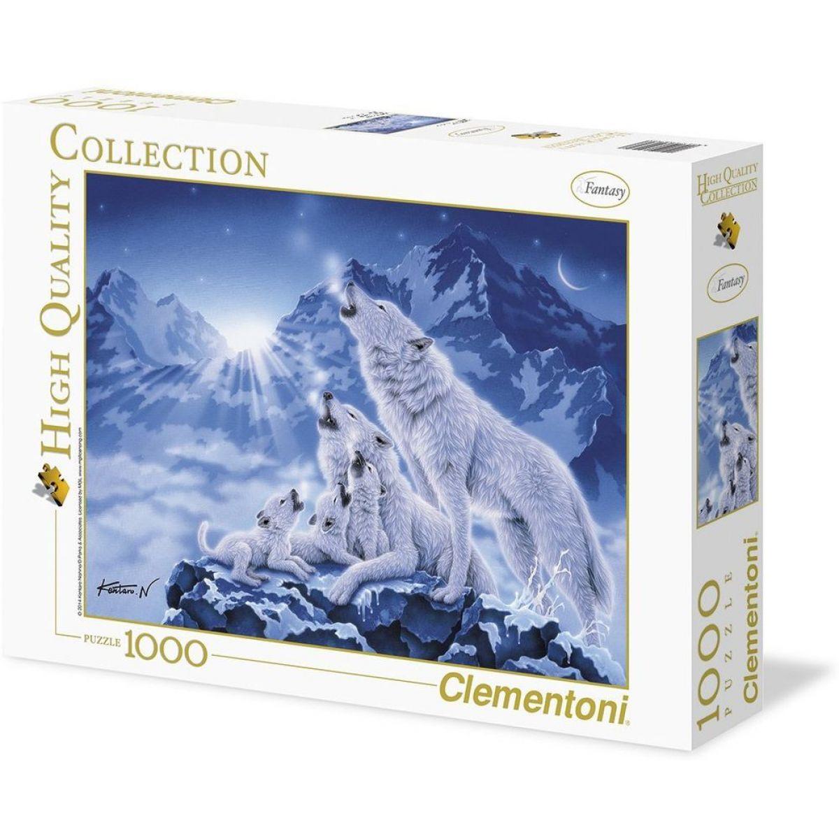 CLEMENTONI 1000 dielikov Rodina vlkov