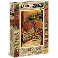 CLEMENTONI Sand Afrika: Venkovská krajina 500 dílků