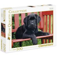 Clementoni Čierny pes 500 dielov