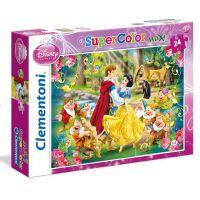Clementoni Sněhurka Supercolor Maxi 24 dílků